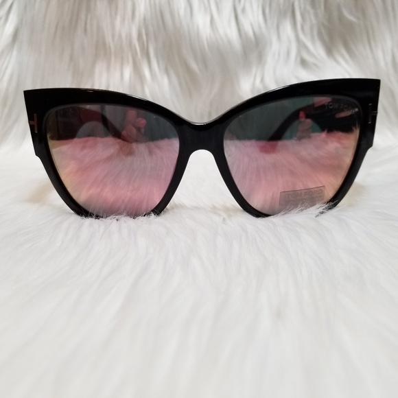 9373b8eaaafb Tom Ford Sunglasses Anoushka Cat Eye Pink Mirror